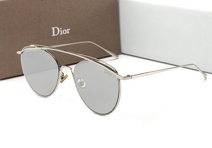 Kính mắt nữ tráng gương cao cấp Dior 12122