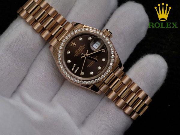 Đồng hồ nữ cao cấp Rolex Datejust 279135RBR